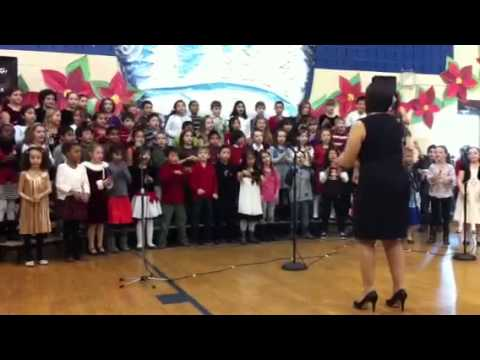 Bea's Holiday Concert - 2012 Honiss School Dumont NJ