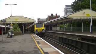 Trains at Basingstoke 15/06/13