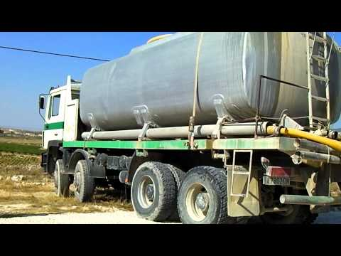 MAN tanker delivery 10 point turn