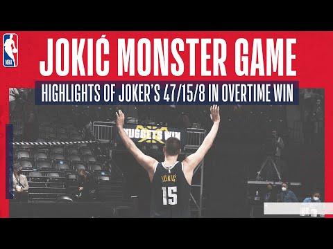 😱😤 JOKIĆ MONSTER GAME! | Extended highlights as Joker drops 47/15/8 in overtime thriller 💥