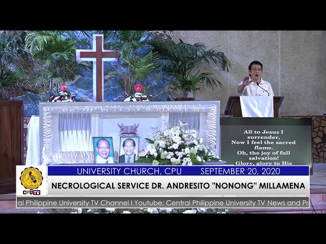 A CELEBRATION OF LIFE DR. ANDRESITO