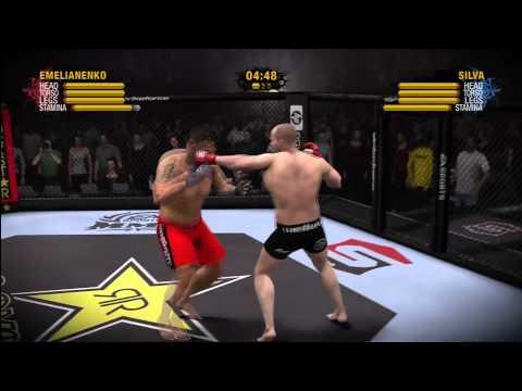 EA SPORTS MMA : Fedor Emelianenko vs Antonio Silva HD By actF MarCSZ