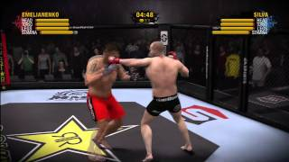 EA SPORTS MMA : Fedor Emelianenko vs Antonio Silva HD By actF MarCSZ