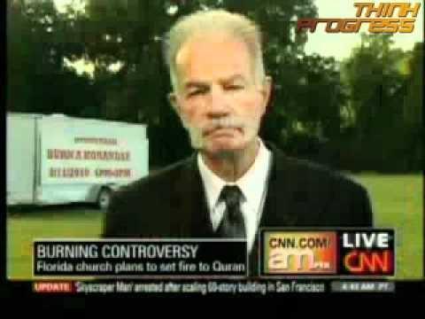Hate Pastor Terry Jones on burning Quran