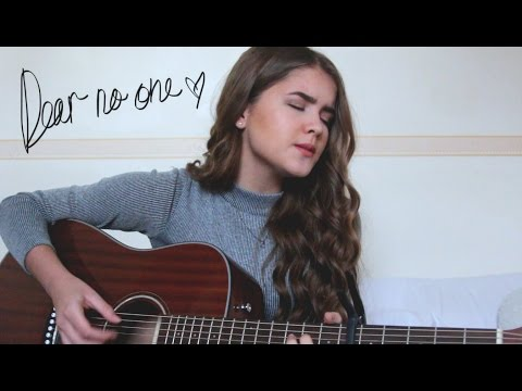 Dear No-one - Tori Kelly / Cover by Jodie Mellor