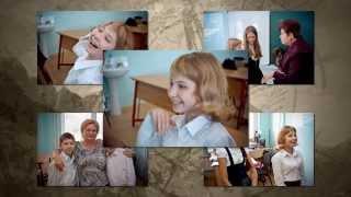 Урок литературного краеведения Д. Л. Немировской в СОШ 55 г  Астрахани, видео С Иванова