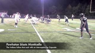 Powhatan blasts Monticello
