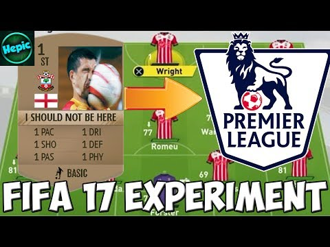 WHAT IF EVERY PREMIER LEAGUE TEAM HAD A 1 RATED STRIKER? - FIFA 17 CAREER MODE EXPERIMENT
