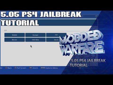 PS4 5.05 Jailbreak Tutorial