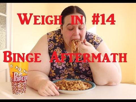 Weigh in #14. How much did i Gain? + Binge Aftermath