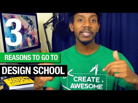 3 Reasons You Should Go To Graphic Design School