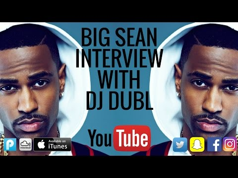 Big Sean Interview - Wants to learn about the Grime scene, giving out his real number & more!