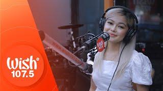 Janine Berdin performs Bulalakaw LIVE on Wish 107.5 Bus