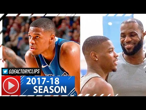 Dennis Smith Jr. Full Highlights vs Cavaliers (2017.11.11) - 21 Pts, 1st Duel vs LeBron!