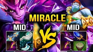 Miracle- Dark Willow MID VS Orge Magi Carry MID - WTF IS THIS! Dota 2