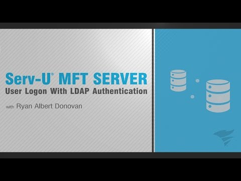 Serv-U MFT Server User: Logon With LDAP Authentication