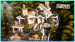 Small Whimsical Cottage: 20x20! 😲[No CC] - Sims 4 Speed Build | Kate Emerald