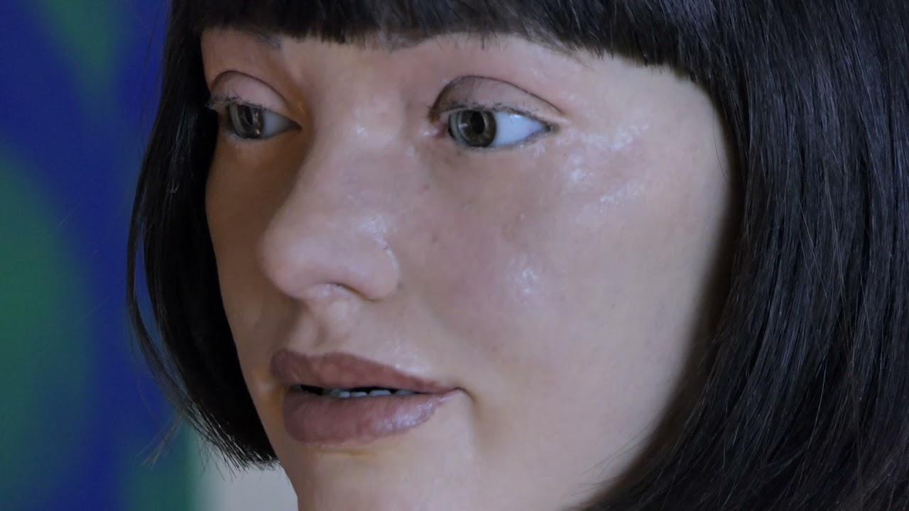 'Ai Da Portrait of the Robot' at the Design Museum