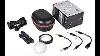 Лучший Петличный микрофон для профи Aputure A. lav для видеокамеры фотоаппарата рекордера и телефона