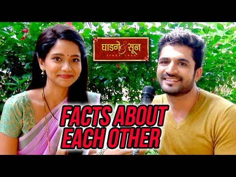 Ghadge & Suun | Some Facts About Bhagwashree and Chinmay | 100 Episodes  Celebration | Colors Marathi