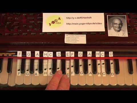 Laudate Omnes Gentes Lern-Video zum freudevollen Singen mit Noten auf sichtbaren Harmoniumtasten 500