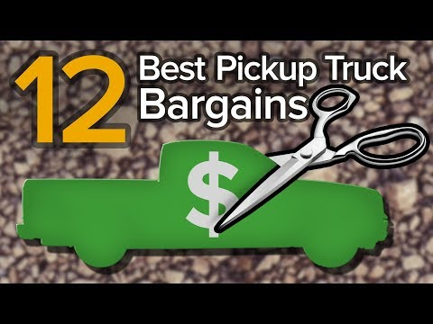 Top 12 Cheapest Pickup Trucks Of 2019: The Short List