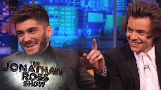 Zayn Malik's Confusion About Flying - The Jonathan Ross Show