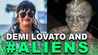 Demi Lovato and #ALIENS