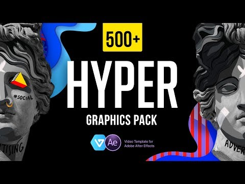 HYPER - Graphics Pack For After Effects | FREE Extension