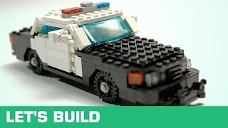 LEGO - Let's Build - US-Polizeiauto