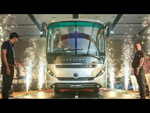 bharatbenz bus Glider Official review video daimler india commercial vehicles autobahn trucking