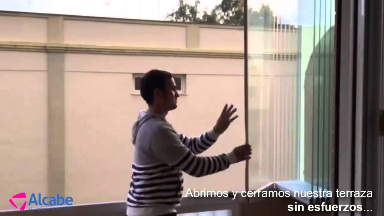Cerramiento De Terraza En Sevilla Utrera Con Cortinas De Cristal Sunflex Desde El Interior Youtube