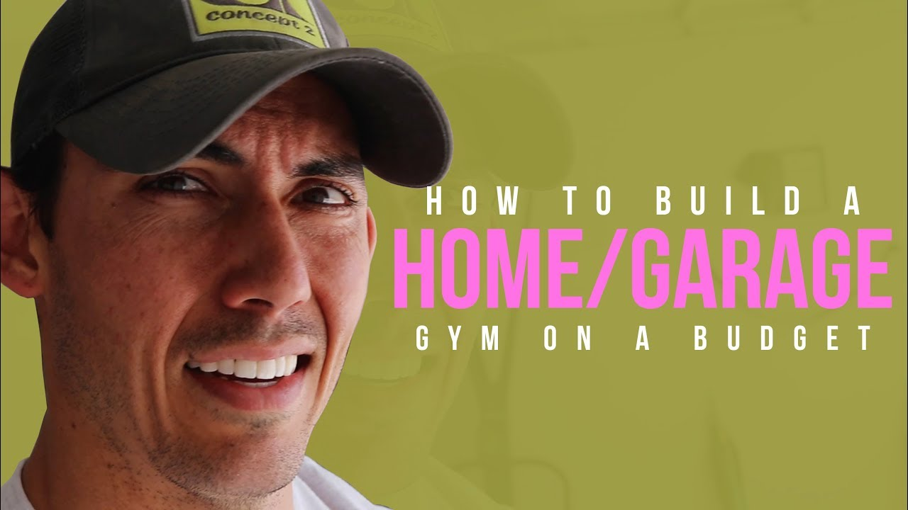 How to build a home garage gym on a budget youtube