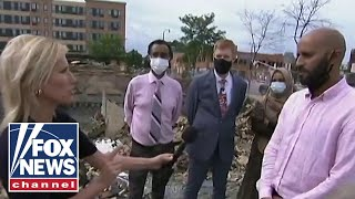 Ingraham tours devastation in Minneapolis, talks to suffering business owners