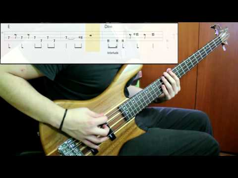 Tame Impala - The Less I Know The Better (Bass Only) (Play Along Tabs In Video)