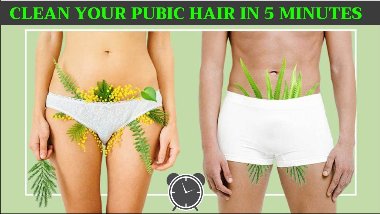 How to clean your pubic hair in 112 minutes. Clean Balls in 12 minutes