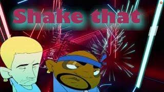 Shake that - Eminem feat. Nate Dogg (Dirty) || Beat Saber custom song