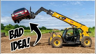 What NOT to do in a Telehandler Forklift | Forklift Operator Training
