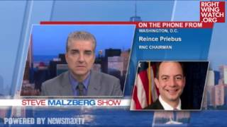 "RWW News: Reince Priebus Agrees DOJ ""Only Involved With Race"""