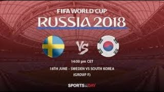 Sweden vs South Korea ,The 2018 FIFA World Cup 2018 | highlights |