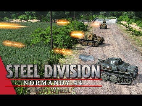 3rd APT Round 1 LB! Steel Division: Normandy 44 - Chickendew vs Nicholas Fricke (Odon - River, 1v1)