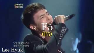 High Notes - F5 Battle - Male Singers