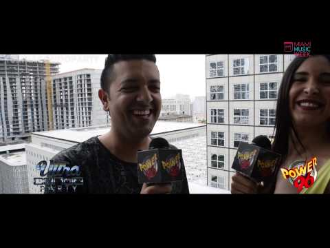 MIAMI MUSIC WEEK 2015 - Sak Noel and Myra Veronica - Power 96 Ultra Condo Party