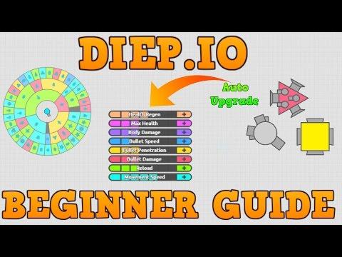 DIEP.IO BEGINNER GUIDE!! // How Bosses Spawn // Sandbox Mode + Basic Game Controls