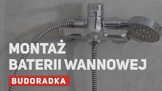 Montaż baterii wannowej, prysznicowej + mimośrody