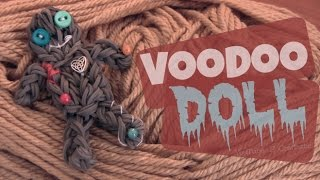 Rainbow Loom : VooDoo Doll Charm - How To Thumbnail