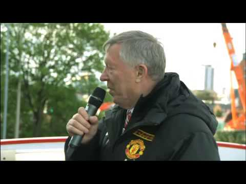 Sir Alex Ferguson's speech -on Manchester United Champions 2013 Parade [13.05.2013]