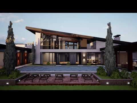 Michael Tiora Hi Tech House Archviz Ue4 Youtube