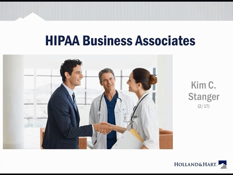 Hipaa Business Associate Agreements  Youtube
