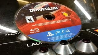 Classic Game Room - DRIVECLUB review for PlayStation 4